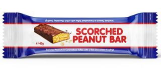 COOKS 30x45gm SCORCHED PEANUT BAR