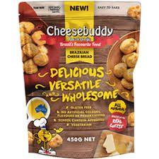 CHEESEBUDDY 6x450g CHEESE BREAD BALLS
