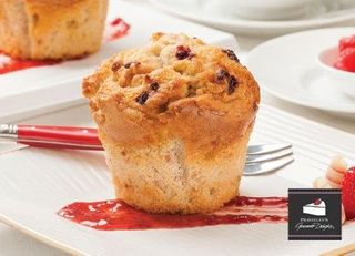 PRSTLY 6 (4) RASPBERRY WHT CHOC MUFFIN