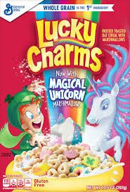 G/MILLS 12x326gm LUCKY CHARMS CEREAL