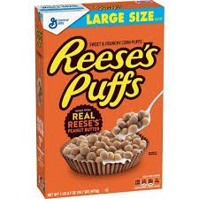 G/MILLS 12x368gm REECES CEREAL PUFFS