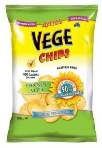 VEGE CHIPS 6x100gm CHICKEN