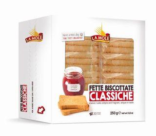 LA MOLE 24x250g CLASSIC FETTE BISCOTTATE