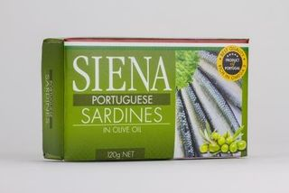 SIENA 12x120gmP/GUESE SARDINES OLIVE OIL