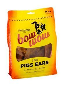 BOW WOW 6x5pk PIG EARS