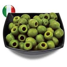 SIENA 4kg (2) SICILIAN GRN PITTED OLIVES