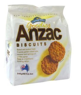 COUNTRY GOLD 5x240gm ANZAC BISCUITS
