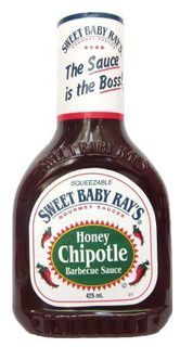 SWEET B/RAYS 12X425ml H/CHIPOTLE BBQ SCE