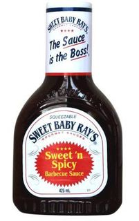SWEET B/RAYS 12X425ml S/SPICY BBQ SAUCE