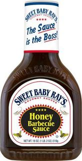 SWEET B/RAYS 12x425ml HONEY BBQ SAUCE