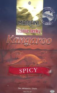 MARIANI 50gm SWEET/HOT KANGAROO JERKY
