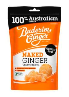BUDERIM 7x200gm NAKED GINGER