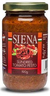SIENA 12x190gm SUNDRIED TOMATO PESTO