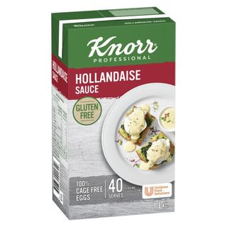 KNORR (6) 1Lt HOLLANDAISE SAUCE TETRA PK