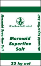 MERMAID 25kg SUPERFINE SALT