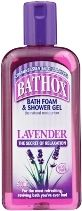 BATHOX 8x500ml FOAM/SH.GEL LAVENDER