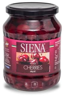 SIENA 6x680gm PITTED CHERRIES