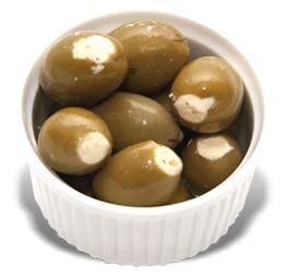 PALOMBA (5) 1.5kg GREEN OLIVES-FETTA