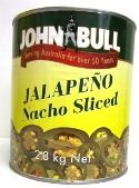 A10 (3) JALAPENO PEPPERS SLICED