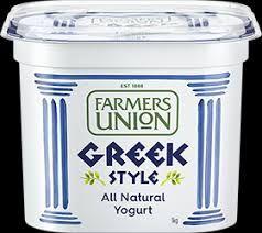 F/UNION 1kg(6) GREEK STYLE PLAIN YOGHURT