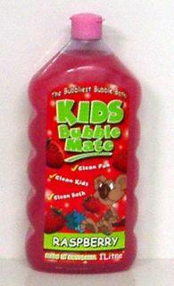 BUBBLE MATE 8x1lt KIDS BUBBLE BATH PINK