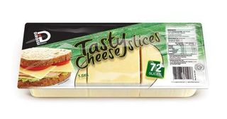 AUSTRALIAN 1.5KG (8) TASTY CHEESE SLICES