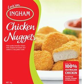 INGHAM 1kg (5) BREAST CHICK NUGGET