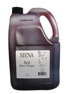 SIENA 5lt (2) ITALIAN RED WINE VINEGAR