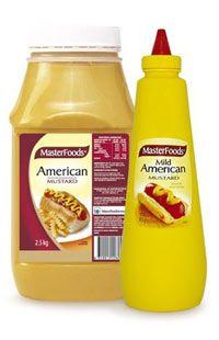 MFOOD 2.5kg (6) AMERICAN  MUSTARD