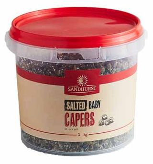 S/HURST 1KG(6)BABY CAPERS IN SALT