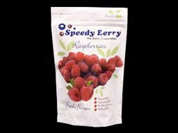 SPEEDY 1kg (10) RASPBERRIES FROZEN
