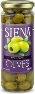 SIENA 6x440g PITTED GREEN OLIVES