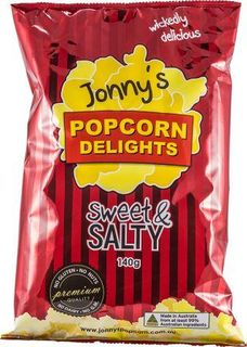JONNY'S 12x112g POPCORN SWEET & SALTY