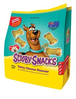SCOOBY SNACK 5x400gm TASTY CHEESE (DOGS)