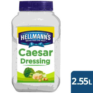 HELLMANS (4) 2.55kg CAESAR DRESSING