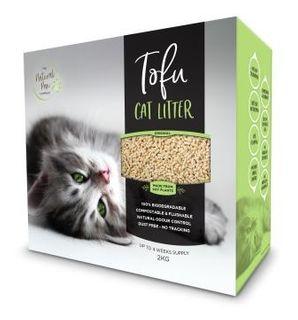 NATURAL PAW CO 4x2kg TOFU CAT LITTER