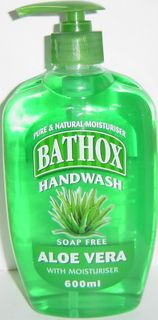 BATHOX 12x600ml HANDWASH ALOE VERA