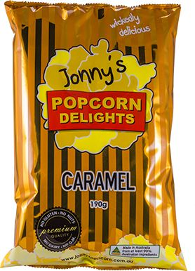 JONNY'S 12x142g POPCORN CARAMEL