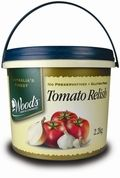 WOODS (4) 2.4kg TOMATO RELISH