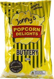 JONNY'S 12x92g POPCORN BUTTERY