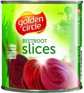 GOLDEN CIRCLE A10 (3) BEETROOT SLICED