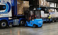 Palletxpress successfully switches from diesel to li-ion trucks