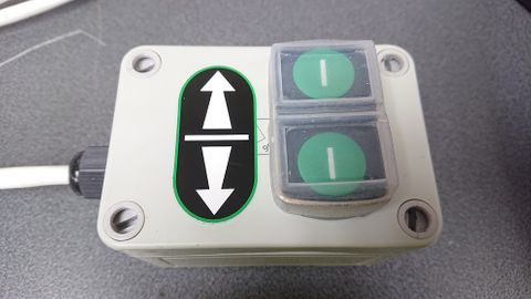 DM UPGRADE: Opposite hand controls in enclosure on right of machine