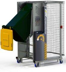 DM0700-1 // Dumpmaster 700mm bin lifter for 80L/120L/240L wheelie bins, 1-phase mains