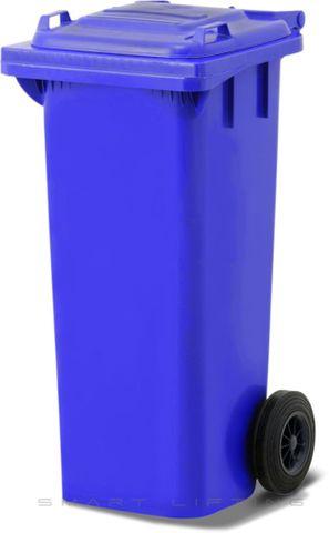 MGB080-CBB Complete Blue/Blue 80L Mobile Garbage Bin - Europlast
