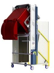 *MD600E-2100.1.C ) to tip 1100L & 660L & 2 x 240L Bins @ 2100mm. 1ph hydraulic.