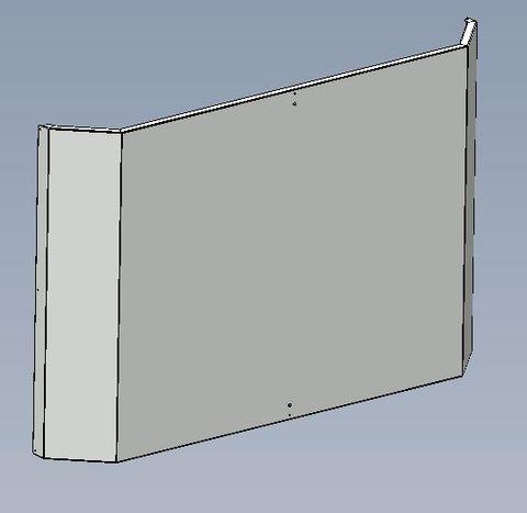 Sheet Metal Brace Panel For 660&1100 MDs 1.2mm PGI