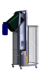 DM2100-1 // Dumpmaster 2100mm bin lifter for 80L/120L/240L wheelie bins, 1-phase mains