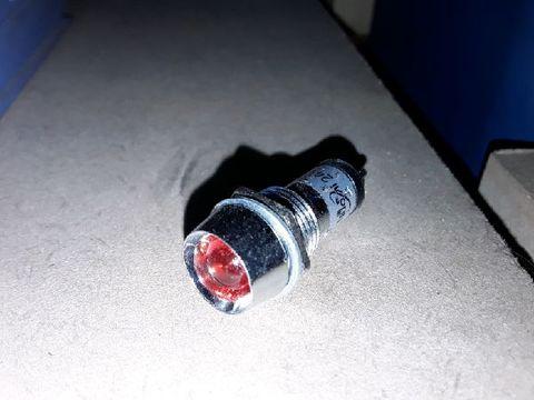 Indicator Lamp red, 24vdc