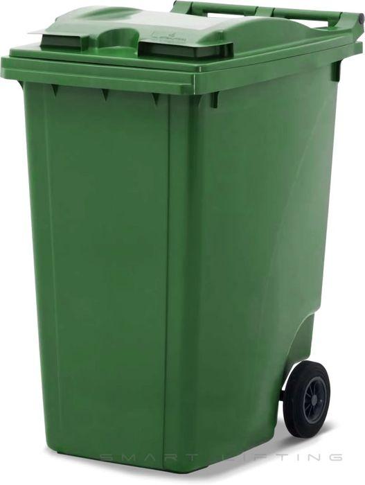 MGB360-CGG Complete Green/Green 360L Mobile Garbage Bin - Europlast